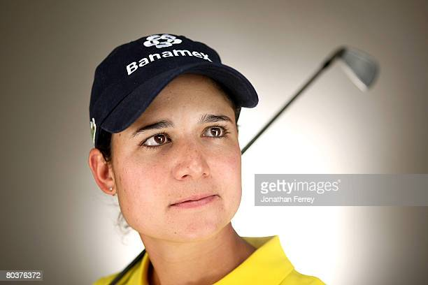 Lorena Ochoa of Mexico poses for a portrait during the LPGA Safeway International at the Superstition Mountain Golf and Country Club March 25 2008 in...