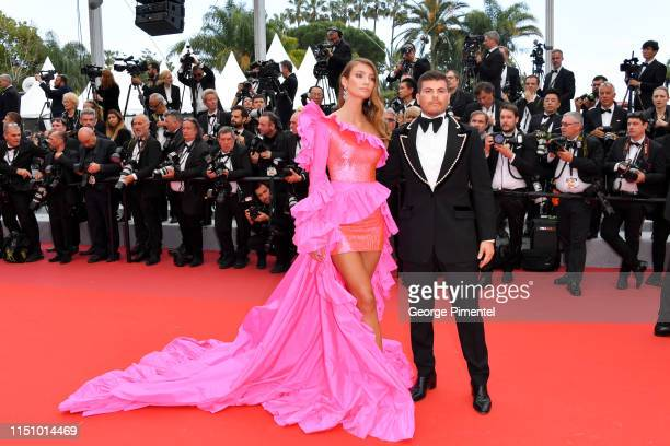Lorena Rae and Eli Mizrahi attend the screening of Oh Mercy during the 72nd annual Cannes Film Festival on May 22 2019 in Cannes France
