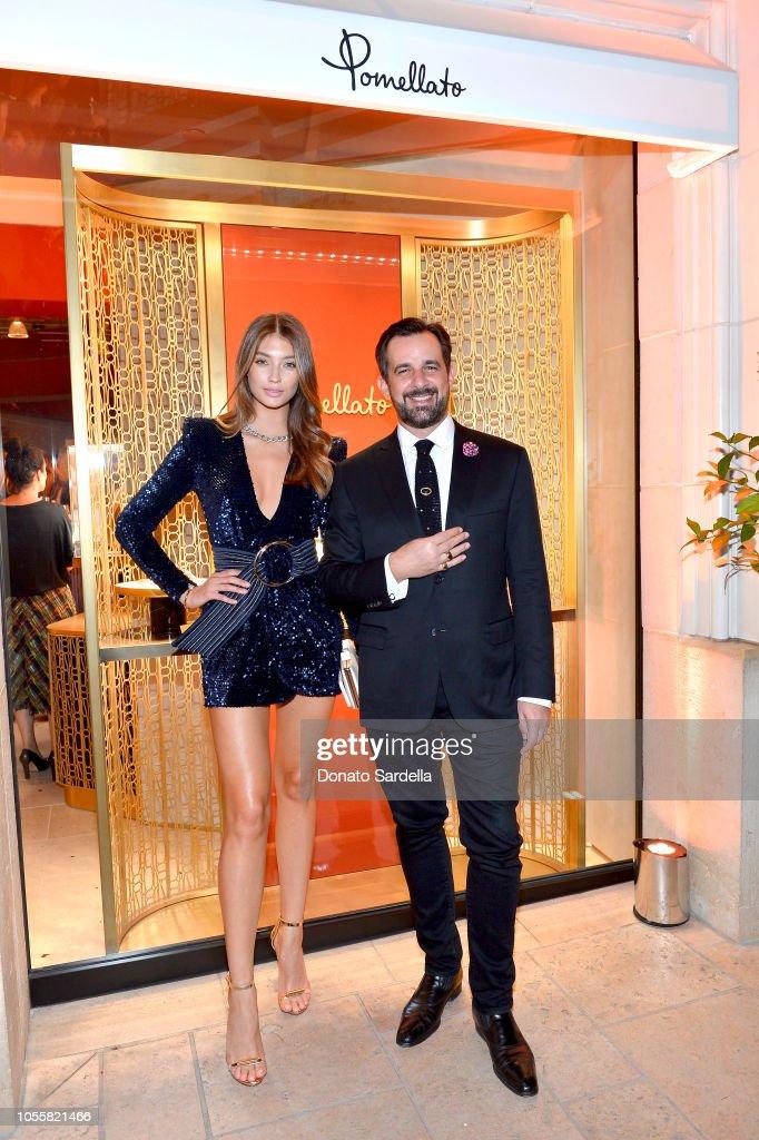 Pomellato Celebrates Beverly Hills Store Opening With Chiara Ferragni : Foto jornalística