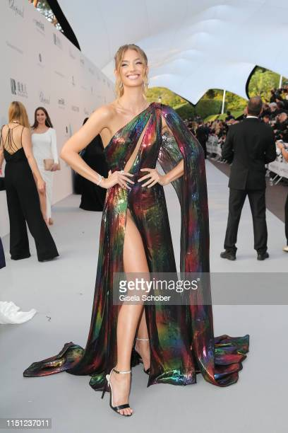 Lorena Rae attends the amfAR Cannes Gala 2019 at Hotel du CapEdenRoc on May 23 2019 in Cap d'Antibes France