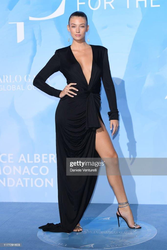 Monte-Carlo Gala for the Global Ocean 2019 - Arrivals : Foto jornalística