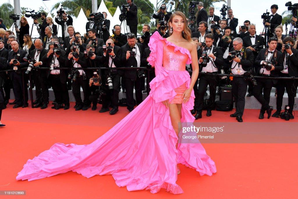 """Oh Mercy! (Roubaix, Une Lumiere)""Red Carpet - The 72nd Annual Cannes Film Festival : Foto jornalística"