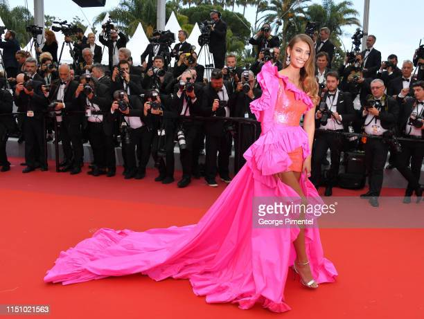 "Lorena Rae attends the screening of ""Oh Mercy! "" during the 72nd annual Cannes Film Festival on May 22, 2019 in Cannes, France."