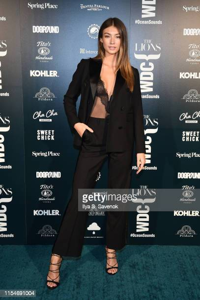 Lorena Rae attends the The Lions X WDC World Ocean Day Event at Spring Place on June 08 2019 in New York City