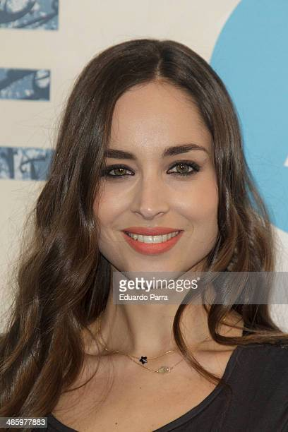 Lorena Van Heerde attends 'El principe' premiere at Callao cinema on January 30 2014 in Madrid Spain
