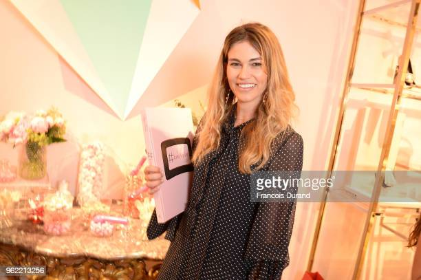 Lorena Vergani attends Roger Vivier '#LoveVivier' Book Launch Cocktail on May 24 2018 in Paris France