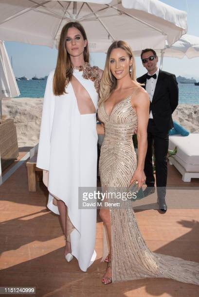 Lorene Renard and Hollie HarringtonBird attend a cocktail party hosted by Alejandro Agag ahead of the World Premiere of the Formula E documentary And...