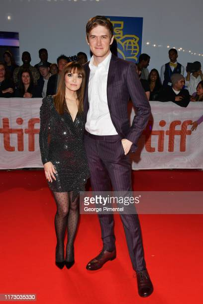 Lorene Scafaria and Bo Burnham attend the Hustlers premiere during the 2019 Toronto International Film Festival at Roy Thomson Hall on September 07...