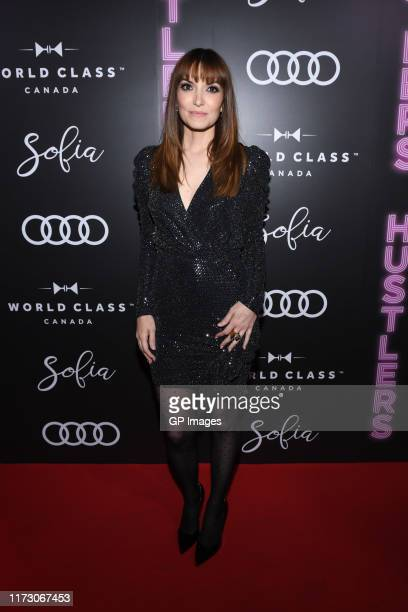 Lorene Scafaria attends the Audi Canada Sofia and World Class postscreening event for Hustlers during the Toronto International Film Festival at...