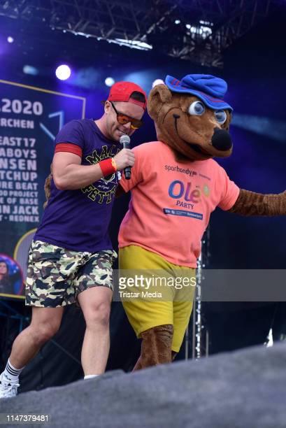 Lorenz Bueffel performs at Oberhausen Ole at KoenigPilsenerArena on June 1 2019 in Oberhausen Germany