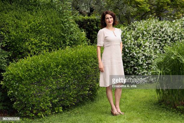 Lorenza Indovina attends a photocall for 'Prima Che La Notte' Rai Fiction at Viale Mazzini on May 21 2018 in Rome Italy