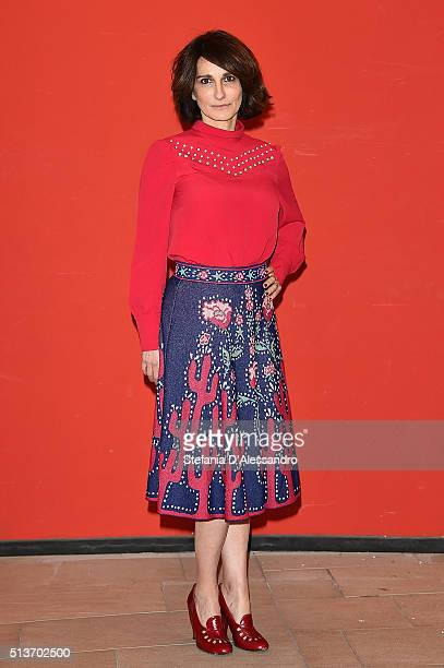 Lorenza Indovina attends 'Forever Young' Photocall on March 4 2016 in Milan Italy