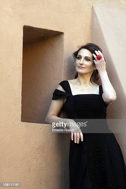Lorenza Indovina attends the Qualunquemente photocall at Sacher Cinema on January 18 2011 in Rome Italy