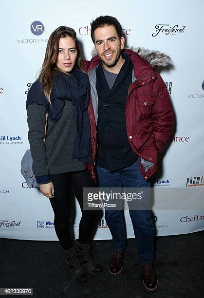 Lorenza Izzo and Eli Roth attend ChefDance 2015 presented by Victory Ranch and sponsored by Merrill Lynch, Freixenet, Anchor Distilling, and Premier...