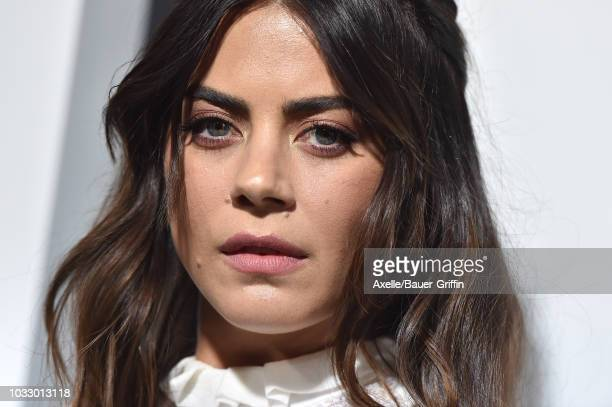 Lorenza Izzo arrives at the premiere of Amazon Studios' 'Life Itself' at ArcLight Cinerama Dome on September 13 2018 in Hollywood California
