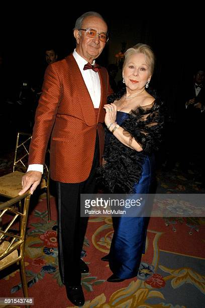 Lorenzo Anselmi and Renata Scotto attend The First Annual Opera News Awards at The Pierre on November 20 2005 in New York City