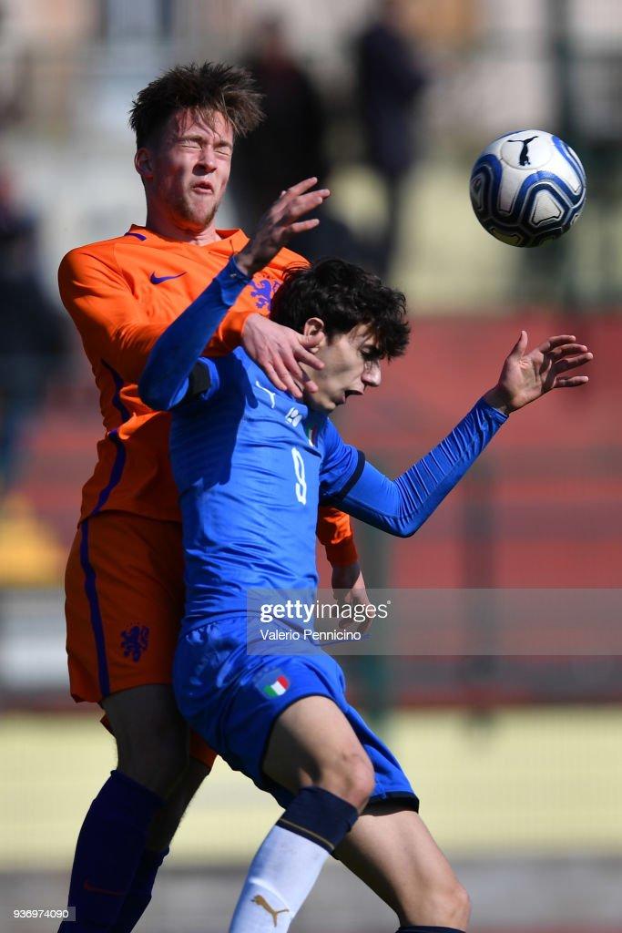 Italy U18 v Netherlands U18 - International Friendly