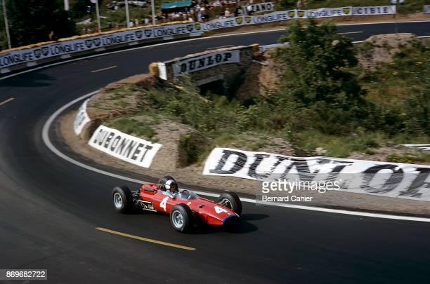 Lorenzo Bandini Ferrari 1512 Grand Prix of France Charade Circuit 27 June 1965