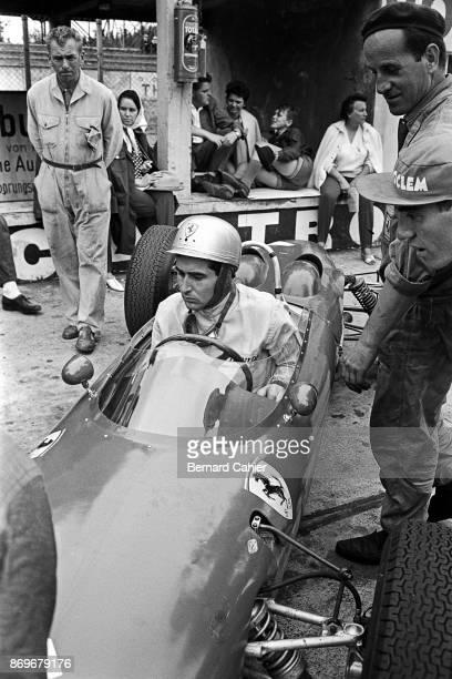 Lorenzo Bandini Ferrari 156 Grand Prix of Germany Nurburgring 05 August 1962
