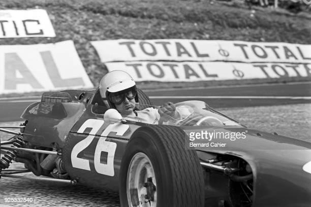 Lorenzo Bandini Ferrari 158 Grand Prix of France RouenLesEssarts 28 June 1964