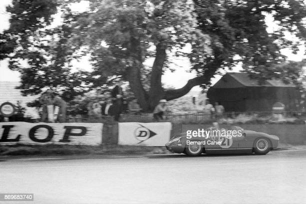 Lorenzo Bandini Ferrari 275P 24 Hours of Le Mans Le Mans 16 June 1963 Lorenzo Bandini in the 1963 24 Hours of Le Mans on the way to victory driving...