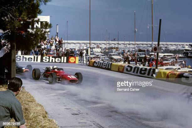 Lorenzo Bandini Ferrari 312 Grand Prix of Monaco Circuit de Monaco 07 May 1967 Lorenzo Bandini during the 1967 Monaco Grand Prix where he would lose...