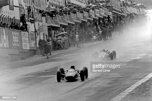 Lorenzo Bandini Jochen Rindt Ferrari 246 CooperMaserati T81 Grand Prix of Belgium Circuit de SpaFrancorchamps 12 June 1966