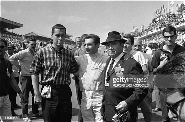 Lorenzo Bandini winner of 24 heures du Mans 1963 'in Le Mans France on June 17 1963