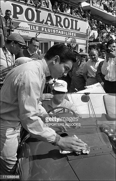 Lorenzo Bandini winner of 24 heures du Mans 1963 in Le Mans France on June 17 1963