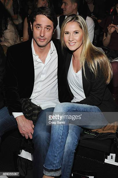 Lorenzo Borghese and guest attend the Zang Toi fashion show during MercedesBenz Fashion Week Fall 2014 at The Salon at Lincoln Center on February 12...