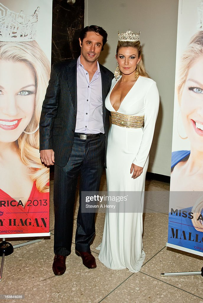 Lorenzo Borghese and Miss America 2013 Mallory Hagan attend the Miss America 2013 Homecoming Gala at The Fashion Institute of Technology on March 16, 2013 in New York City.