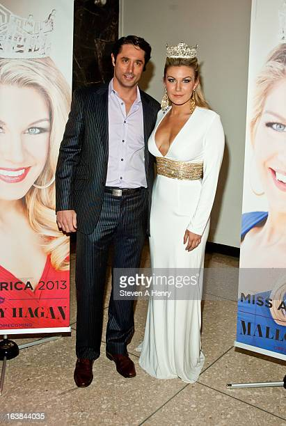 Lorenzo Borghese and Miss America 2013 Mallory Hagan attend the Miss America 2013 Homecoming Gala at The Fashion Institute of Technology on March 16,...
