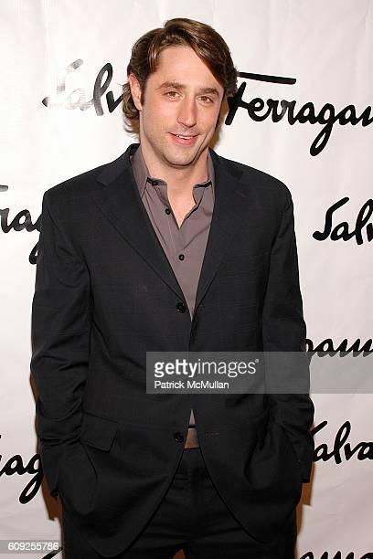 "Lorenzo Borghese attends SALVATORE FERRAGAMO's Contemporary Art Show ""WATER"" benefiting RIVERKEEPER at Salvatore Ferragamo on February 7, 2007 in New..."