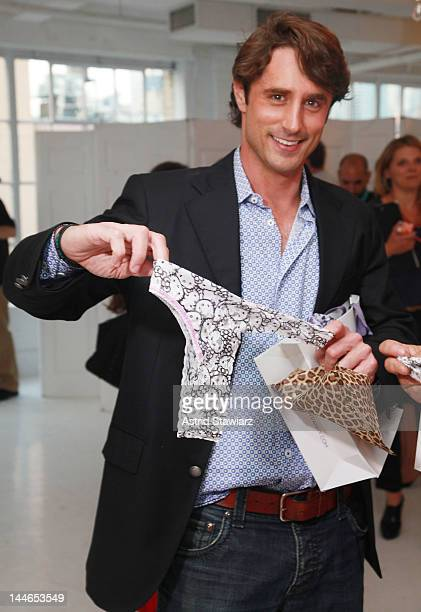 Lorenzo Borghese attends the Hanky Panky For Hello Kitty Launch Benefiting The Human Society Of The United Statesat Studio 450 on May 16, 2012 in New...