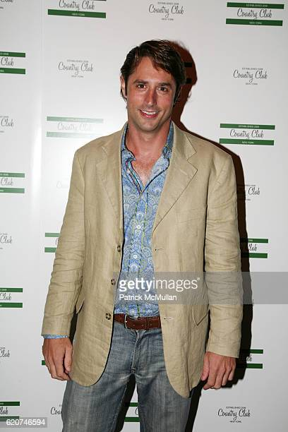 Lorenzo Borghese attends The Launch of COUNTRY CLUB at Country Club on July 23 2008 in New York City