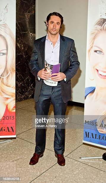 Lorenzo Borghese attends the Miss America 2013 Homecoming Gala at The Fashion Institute of Technology on March 16, 2013 in New York City.