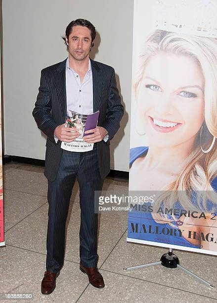 Lorenzo Borghese attends the Miss America 2013 Mallory Hagan Official Homecoming Celebration at The Fashion Institute of Technology on March 16, 2013...