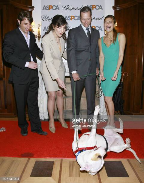 """Lorenzo Borghese, Catherine Bove, GM of Chopard's New York, Marc Hruschka, President and CEO of Chopard NY, Lake Bell and """"Jessie"""""""