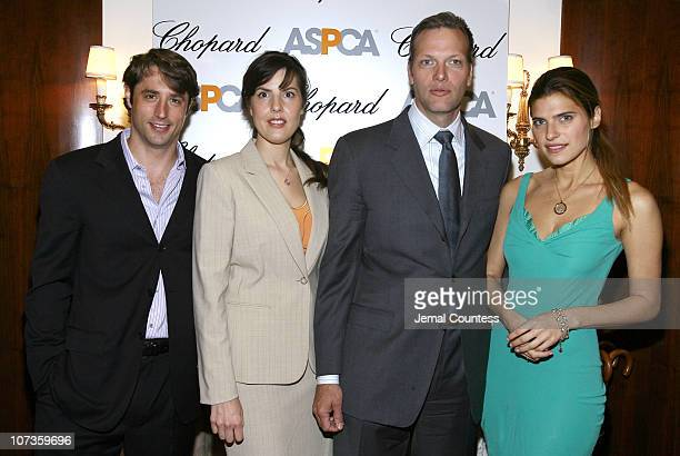 Lorenzo Borghese, Catherine Bove, GM of Chopard's New York, Marc Hruschka, President and CEO of Chopard NY and Lake Bell