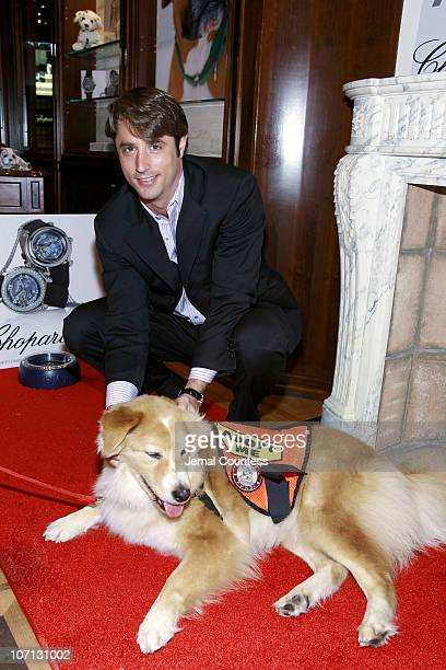 """Lorenzo Borghese with """"Mayer"""" during Lake Bell and Lorenzo Borghese Crown ASPCA Shelter Dog """"King"""" of the 10th Annual ASPCA Ball with $1-Million..."""