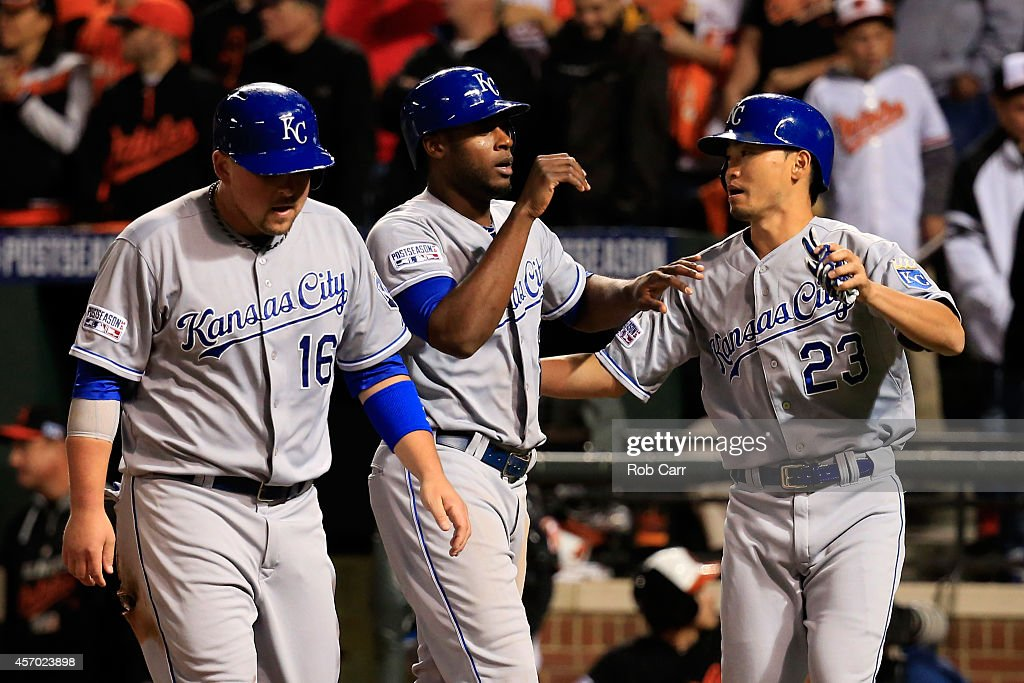 ALCS - Kansas City Royals v Baltimore Orioles - Game One