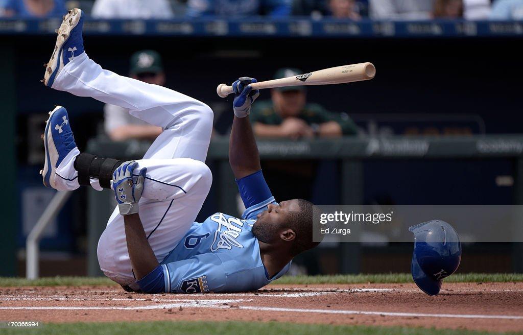 Oakland Athletics v Kansas City Royals : News Photo