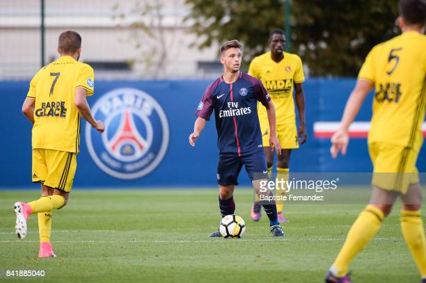 Lorenzo Callegari of Paris Saint Germain during the National 2 match between Paris Saint Germain B and Chasselay on September 2nd 2017 in Paris France