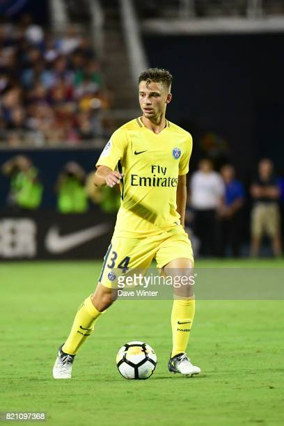 Lorenzo Callegari of PSG during the International Champions Cup match between Paris Saint Germain and Tottenham Hotspur on July 22 2017 in Orlando...
