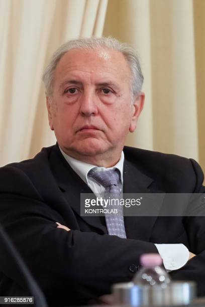 Lorenzo del Boca journalist and essayist Honorary President of the Order of Journalists
