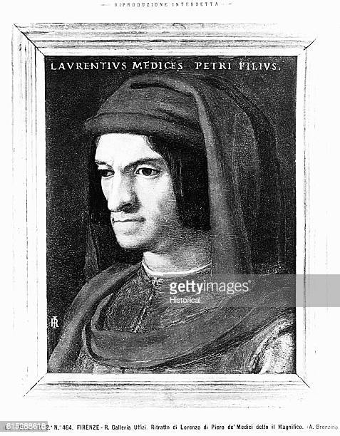 Lorenzo de'Medici ruler of Florence titled Il Magnifico Lorenzo survived an assassination attempt that killed his brother and coruler Giuliano and...