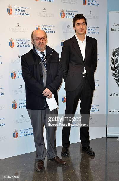 Lorenzo Diaz and Concha Garcia Campoy's son Lorenzo Diaz jr attend the National Radio Awards 2013 on February 13, 2013 in Madrid, Spain.
