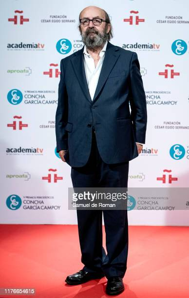 Lorenzo Diaz attends during scientific journalist award 'Concha Garcia Campoy' In Madrid on September 23, 2019 in Madrid, Spain.