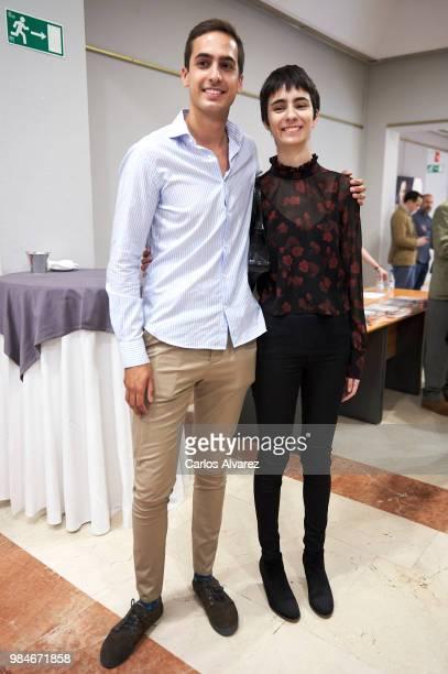Lorenzo Diaz Garcia and Berta Diaz Garcia attend the Concha Garcia Campoy awards 2018 on June 26 2018 in Madrid Spain