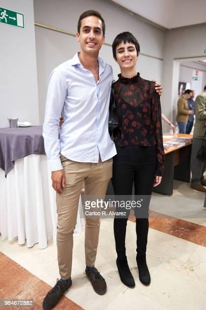 Lorenzo Diaz Garcia and Berta Diaz Garcia attend the Concha Garcia Campoy awards 2018 on June 26, 2018 in Madrid, Spain.